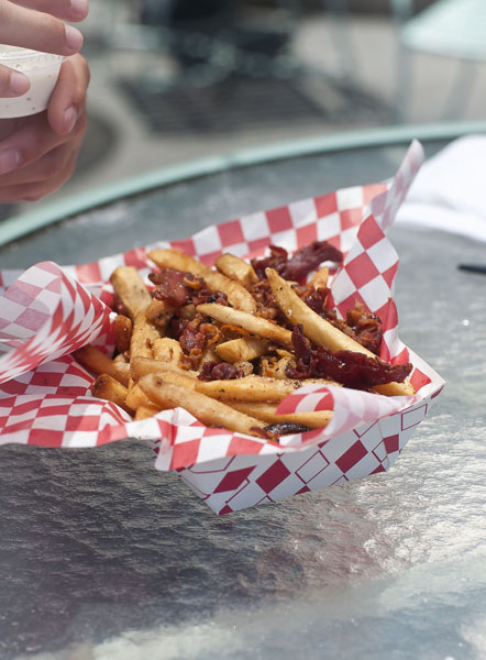 Not to mention a chaser of bacon-covered fries.