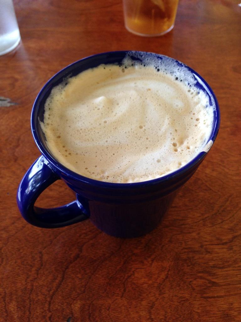 Soy cafe au lait