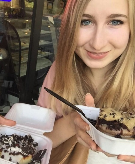 Crazy delicious vegan cinnamon rolls! (cropped out my friend for privacy purposes)