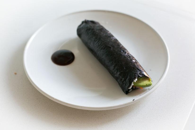 My favorite way to eat sushi: the sushirito