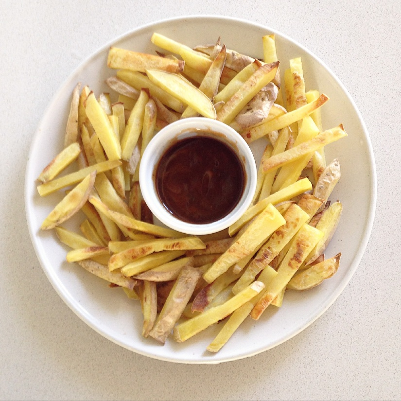 This is what a pound of french fries looks like!